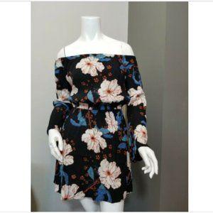 Billabong Floral OFF THE SHOULDER DRESS